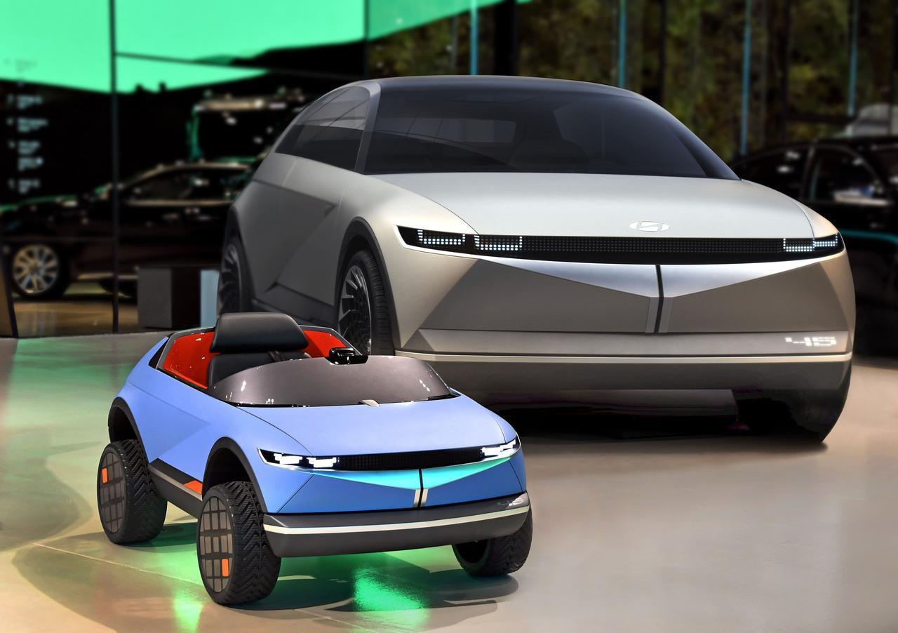 Hyundai выпустила электромобиль для детей (2)