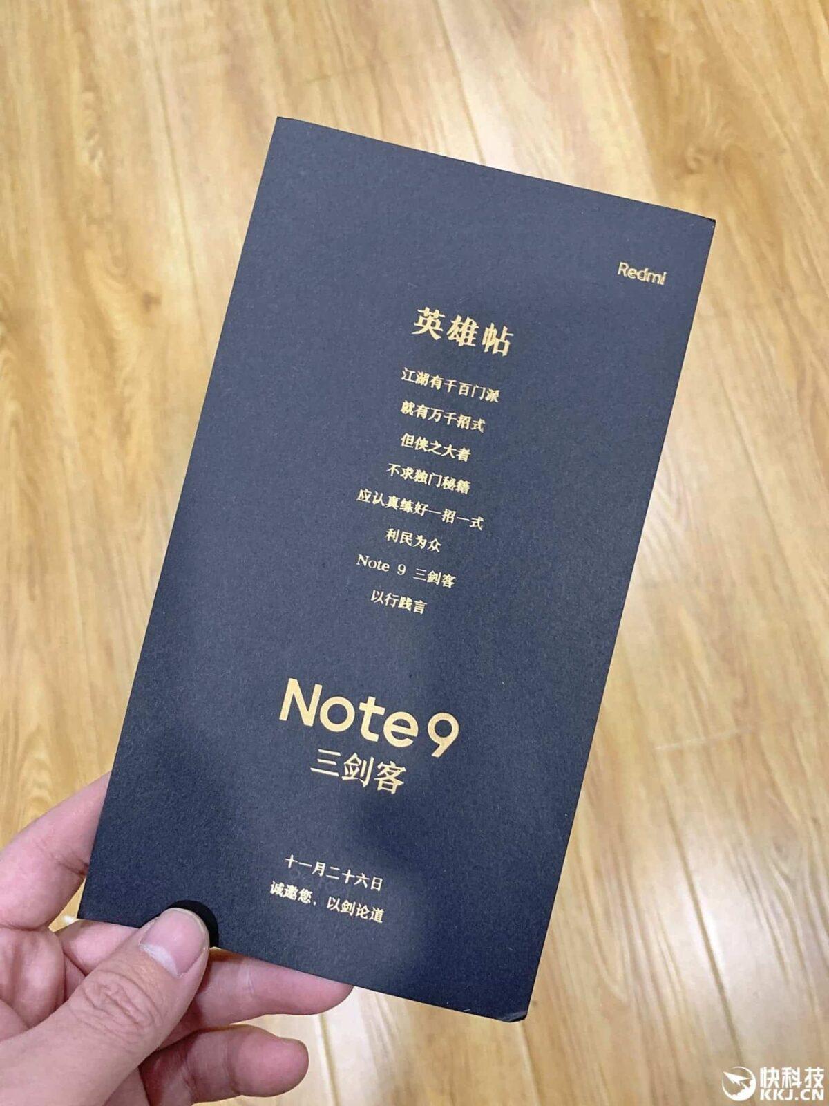 Redmi отправляет необычные приглашения на мероприятие по запуску смартфона Redmi Note 9 (24df1aa5703a4a00a56d46bc94f7cd7b 1536x2048 1)