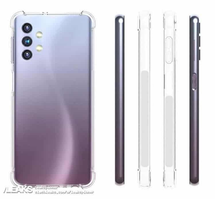 Раскрыт дизайн смартфона Samsung Galaxy A32 (Galaxy A32 5G 1)
