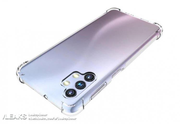Раскрыт дизайн смартфона Samsung Galaxy A32 (Galaxy A32 5G 2)