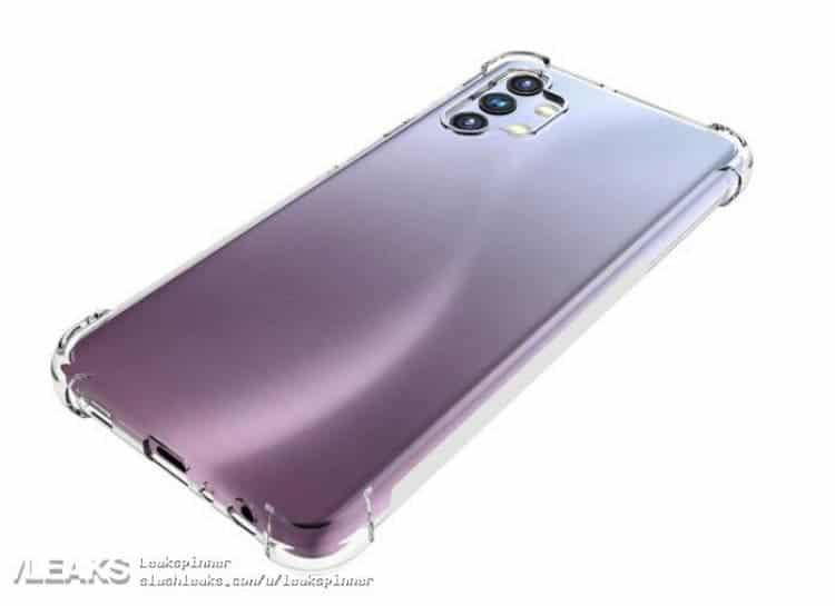 Раскрыт дизайн смартфона Samsung Galaxy A32 (Galaxy A32 5G 3)