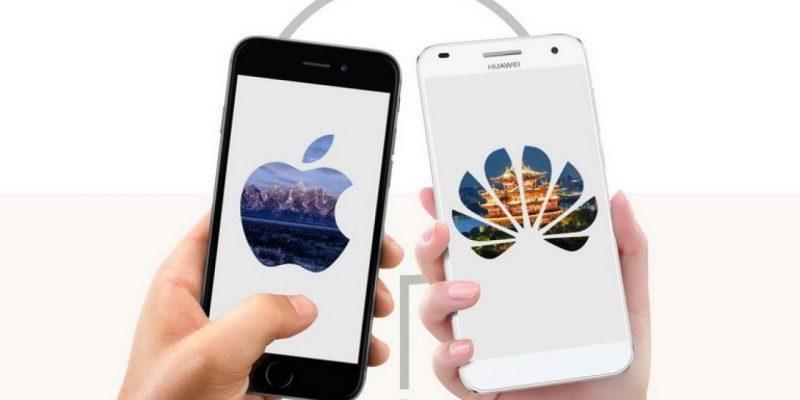 Смартфоны Huawei Mate 40 и iPhone 12 закончились в Китае (Huawei vs Apple 1 1280x720 1)