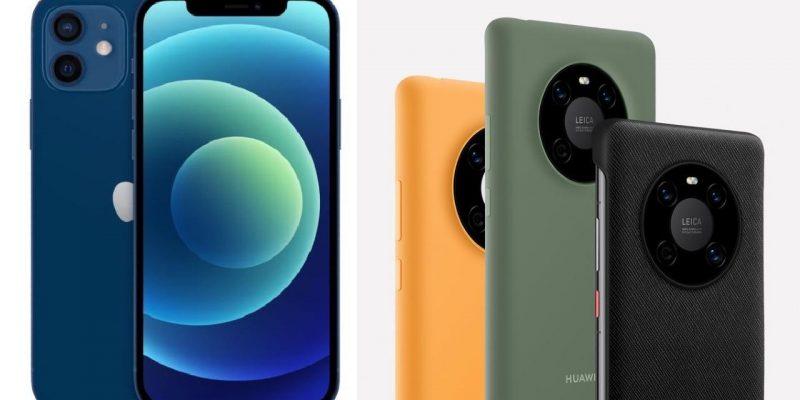 Купите Huawei Mate 40 Pro и получите iPhone 12 бесплатно (Mate 40 vs iPhone 12)