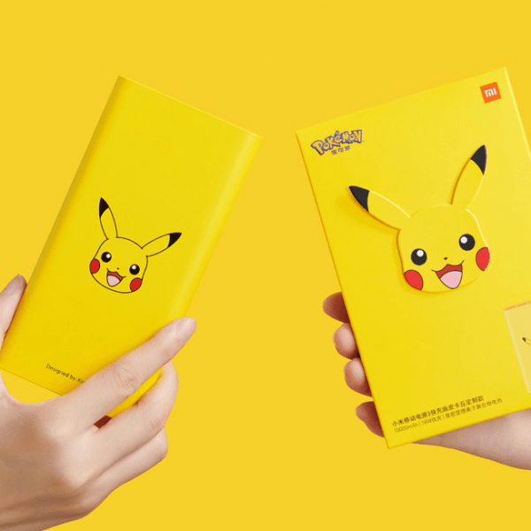 Xiaomi выпустила powerbank в стиле Пикачу (Mi Power Bank 3 Pikachu Edition)