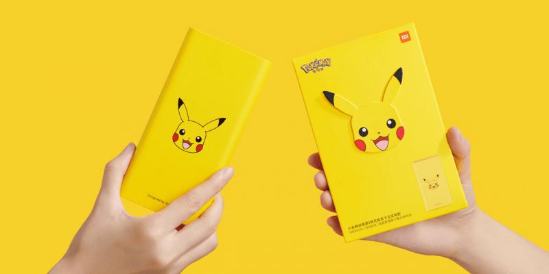 Xiaomi выпустила powerbank в стиле Пикачу (Mi Power Bank 3 Pikachu Edition)