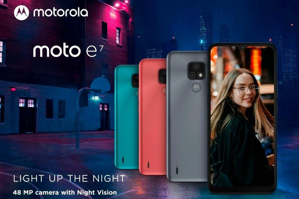 Motorola представила недорогой смартфон Moto E7 (Moto E7 featured)