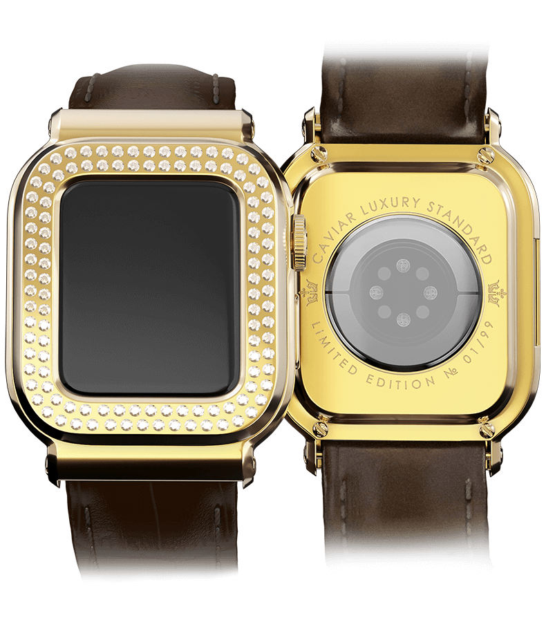Caviar представила Apple Watch за 3 миллиона рублей (New Apple Watch Series 6 Gold catalog0001)