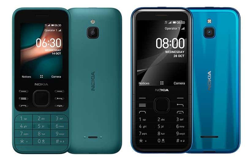HMD Global перевыпустила культовые смартфоны 90-х (Nokia 6300 4G and 8000 4G)