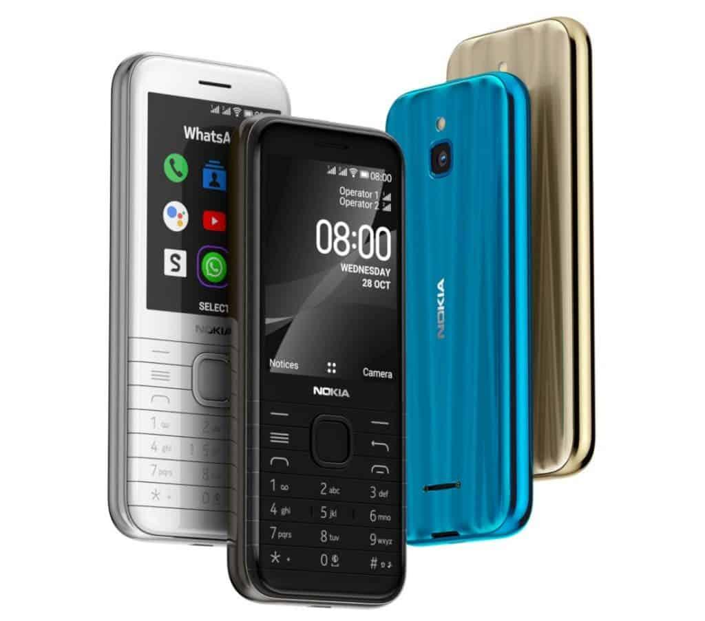 HMD Global перевыпустила культовые смартфоны 90-х (Nokia 8000 4G 1024x903 1)