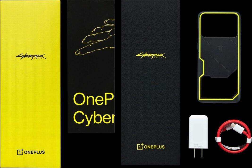 Представлен OnePlus 8T Cyberpunk 2077 Edition. Его оценили в 597 долларов (OnePlus 8T CyberPunk 2077 Limited Edition 05 1068x712 1)