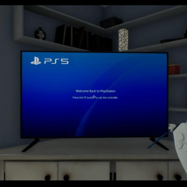 Эмулятор PlayStation 5. Можно бросать джойстик прямо в телевизор и он не сломается (VdO4zK)