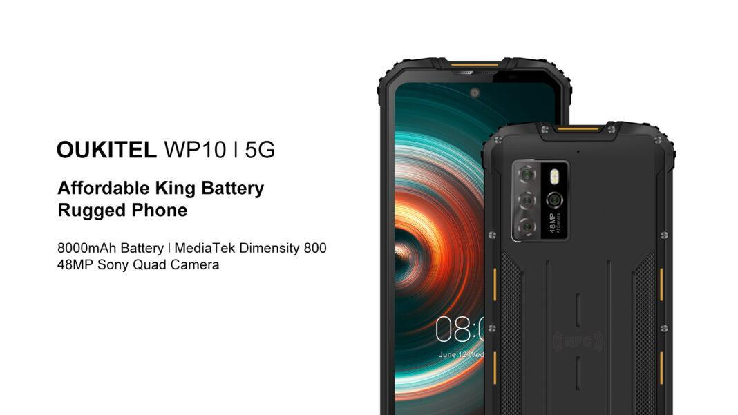 Oukitel анонсировала защищённый смартфон Oukitel WP10 с батареей на 8000 мАч (WP10 5G 1 1068x601 1)