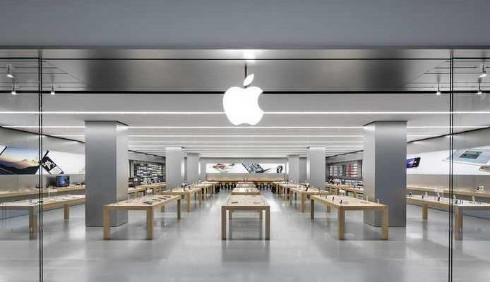 Apple достигла рыночной капитализации в 2,5 трлн долларов (apple store)