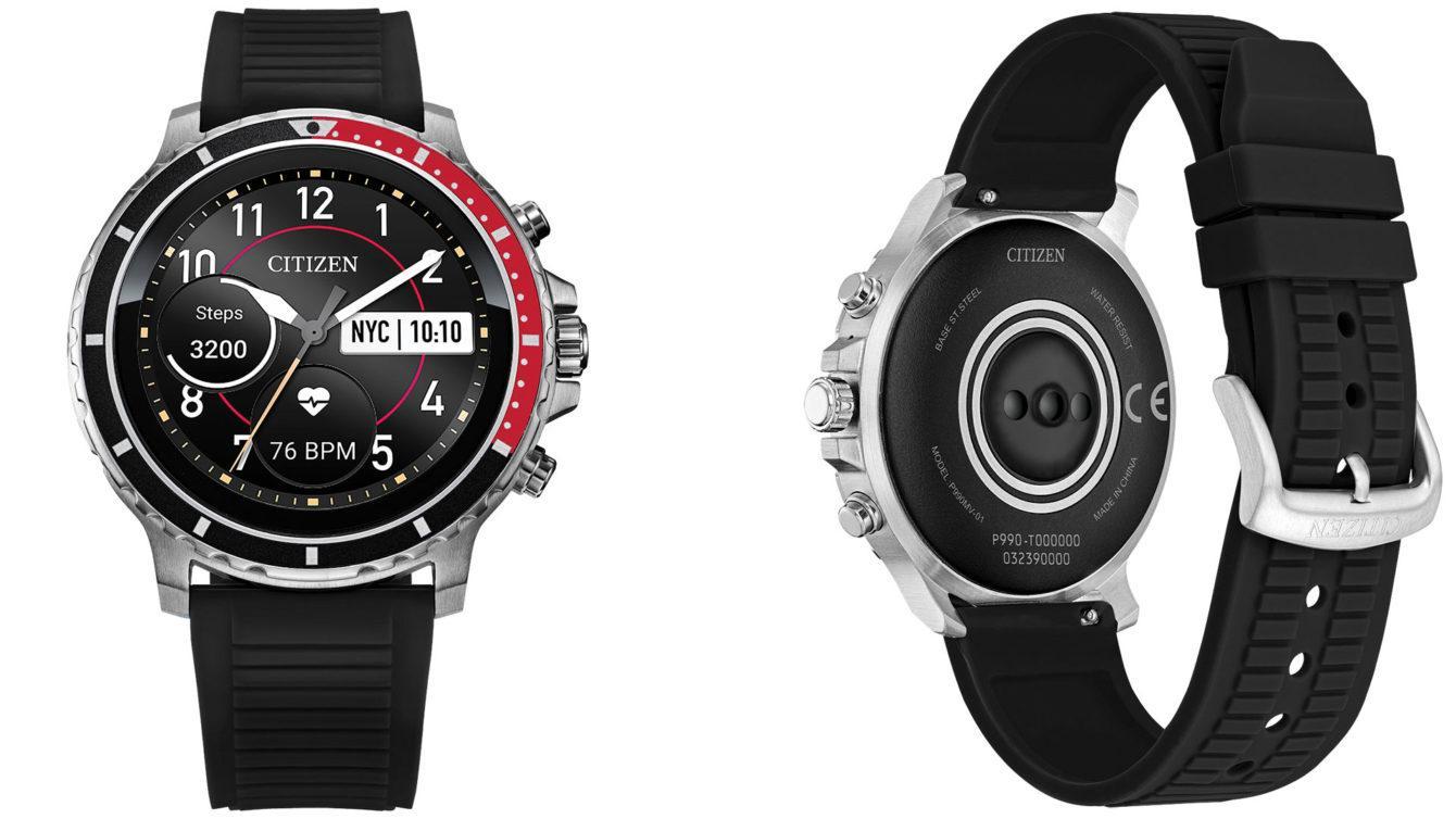 Citizen представила свои первые умные часы (citizen cz smart wear os smartwatch 1340x754 1)
