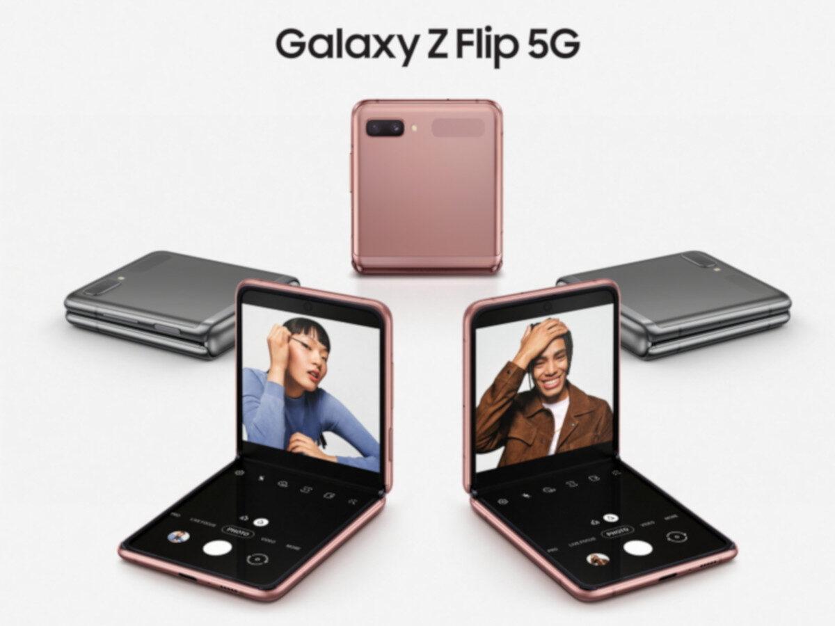 ТОП-5 складных смартфонов 2020 года (galaxy z flip 5g 1200x900 1)