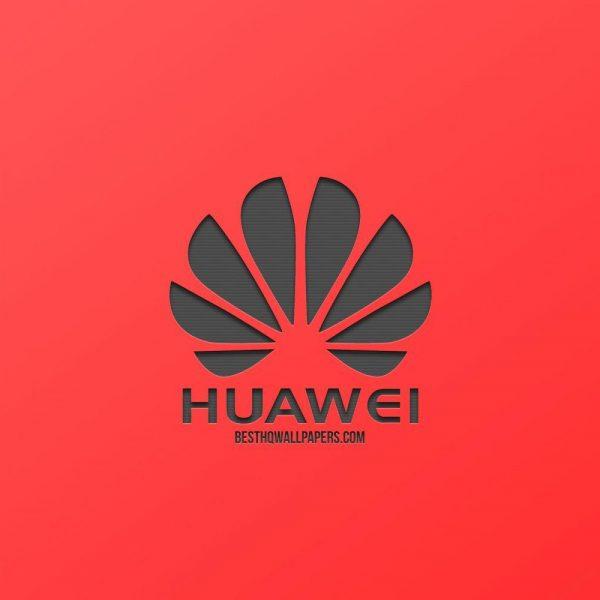 Huawei выпустит ноутбук с процессором Kirin, который раньше использовали только для смартфонов (huawei logo red background creative design metal emblem)