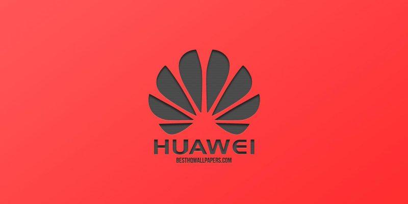 Huawei представила свой первый ПК MateStation с процессором Kunpeng 920 и графикой AMD (huawei logo red background creative design metal emblem)