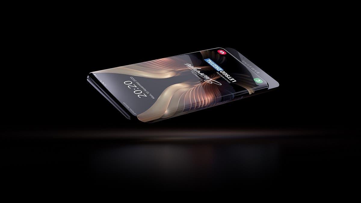 Samsung готовит смартфон наподобие Xiaomi Mi Mix Alpha (samsung slider)