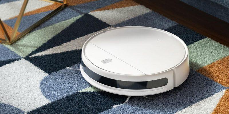 Xiaomi представила робот-пылесос за 344 доллара (xiaomi mijia sweeping robot G1 predstavenie cover)