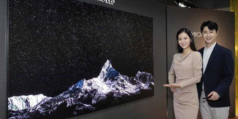 Samsung представила огромный 110-дюймовый телевизор Micro LED TV (삼성마이크로LEDTV2)