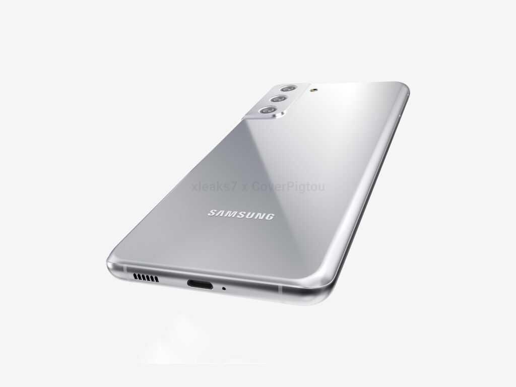 Samsung Galaxy S21+ позирует на качественных рендерах (1 1)