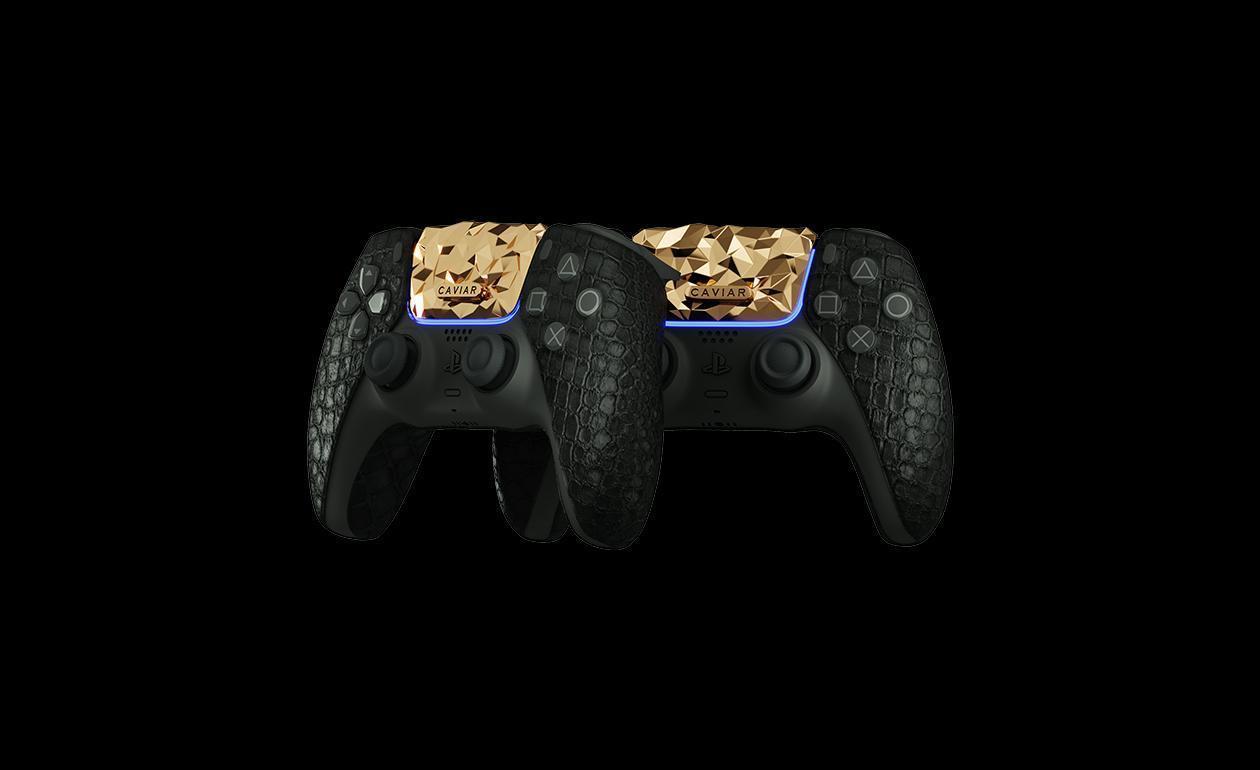 Caviar анонсировала полностью золотую PlayStation 5 (123 1)
