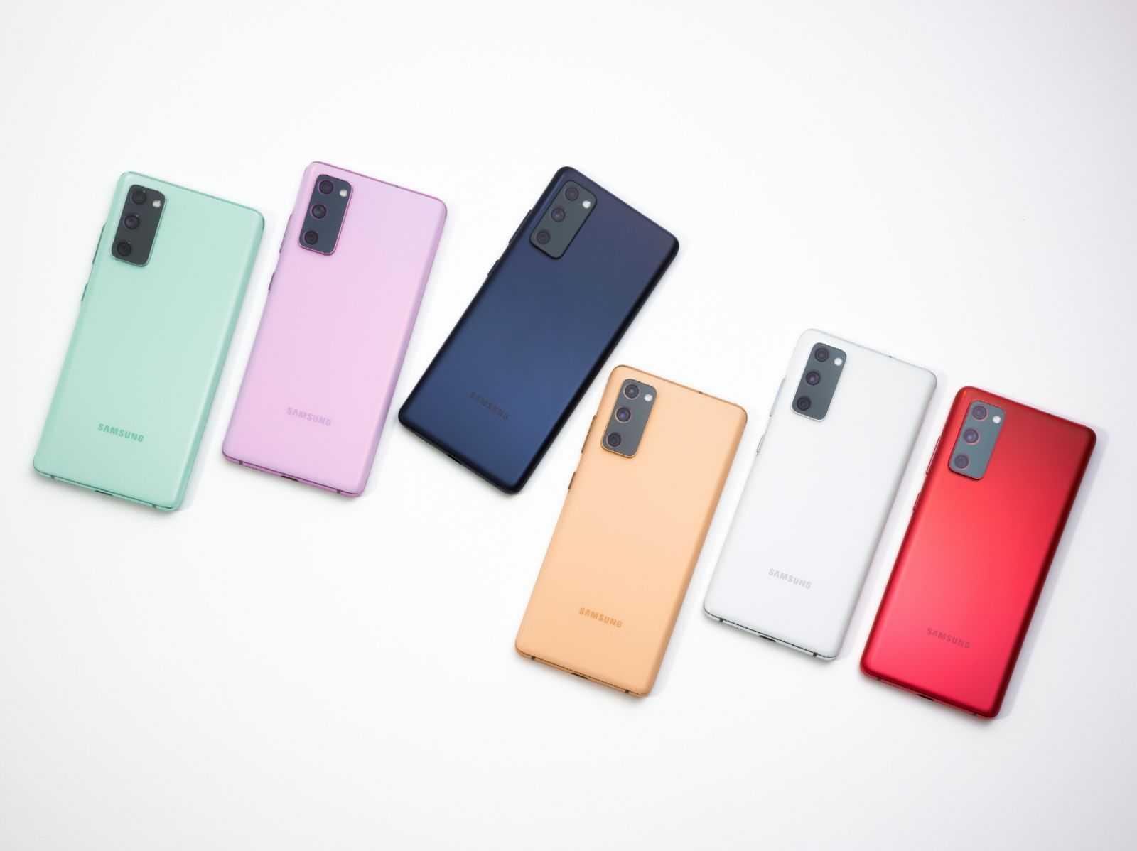 Обзор Samsung Galaxy S20 FE: недорогой, но флагман (2. Galaxy S20 FE Colors 2)
