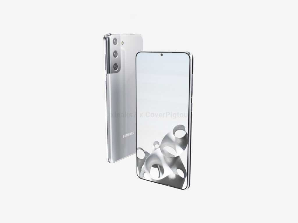Samsung Galaxy S21+ позирует на качественных рендерах (2)