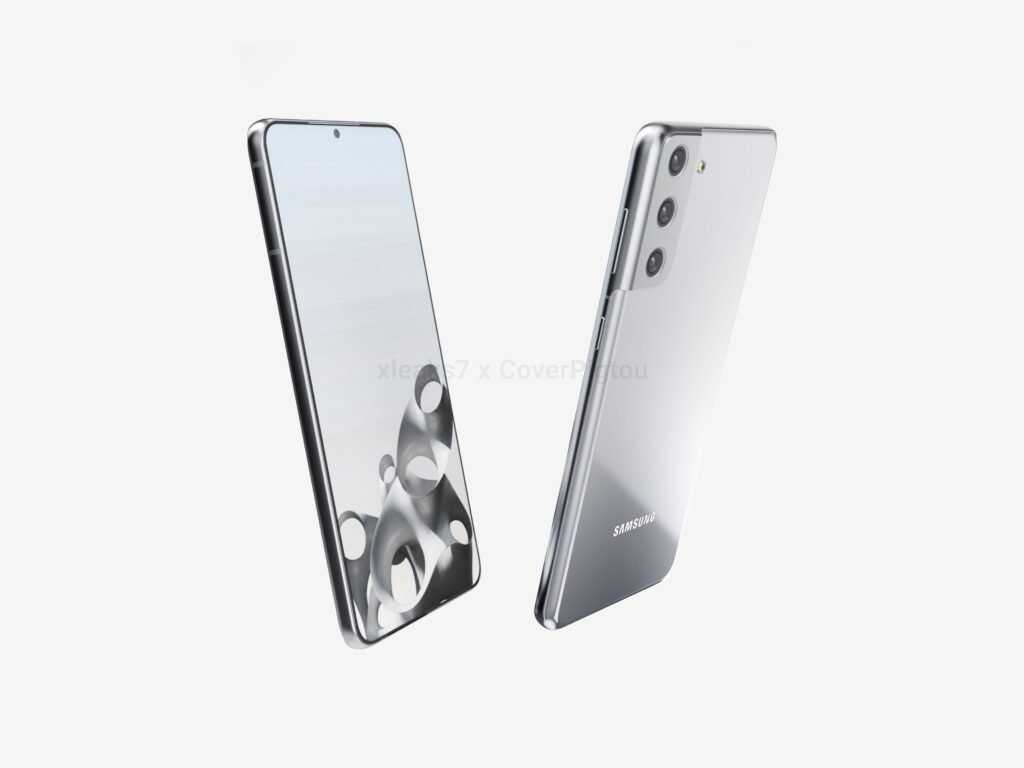 Samsung Galaxy S21+ позирует на качественных рендерах (3)