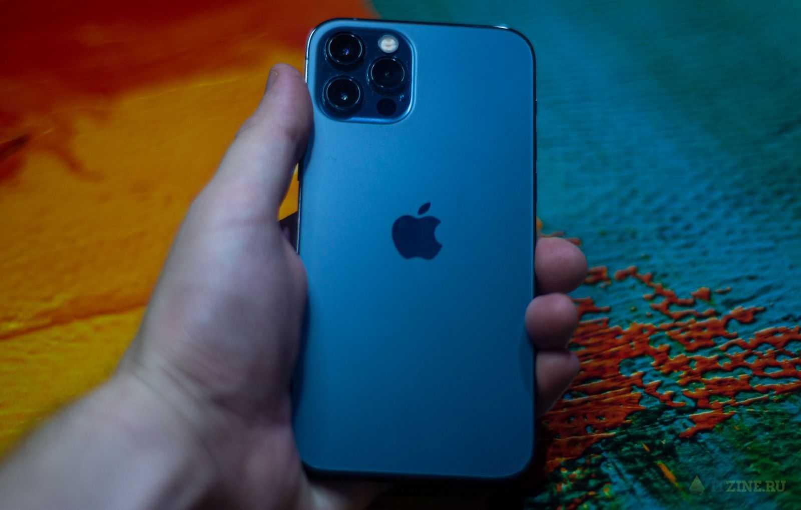 iPhone 12 Pro идеально лежит в руке