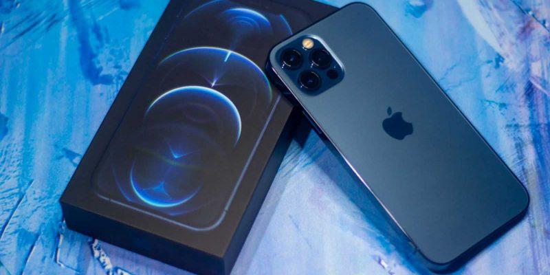 iPhone 12 Pro и тонкая коробка