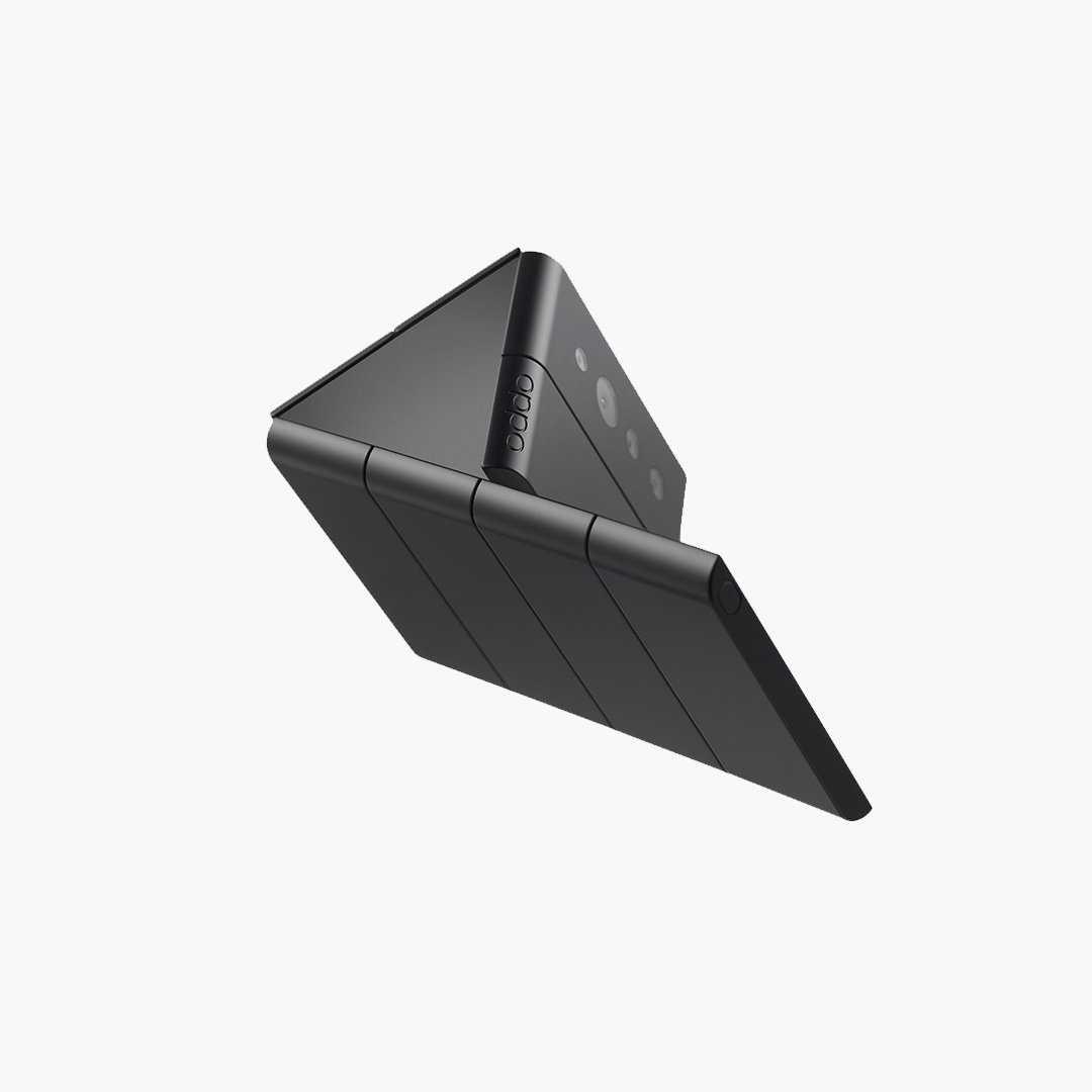 OPPO создала смартфон, складывающийся втрое (OPPO Triple Fold 2 1)