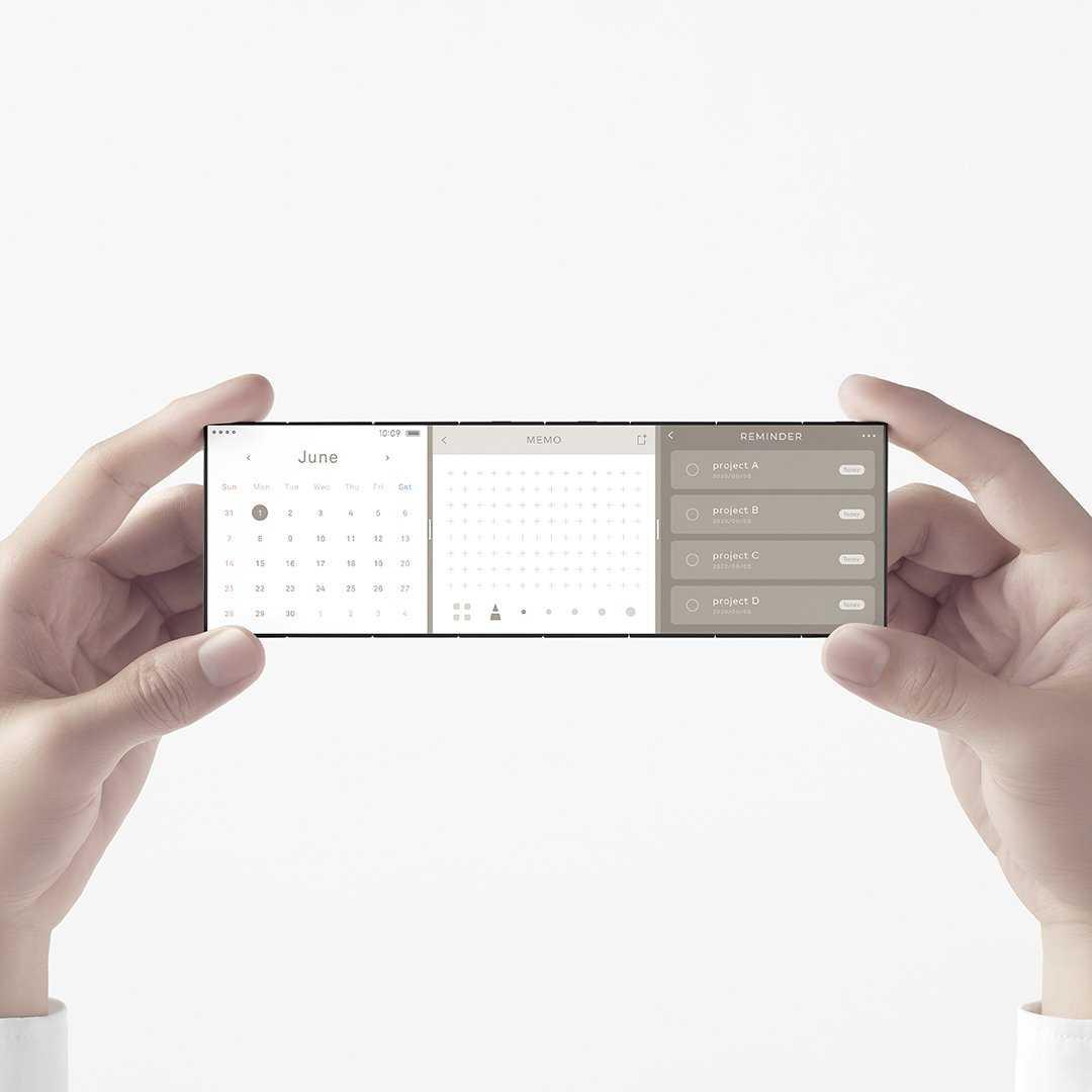 OPPO создала смартфон, складывающийся втрое (OPPO Triple Fold 4)