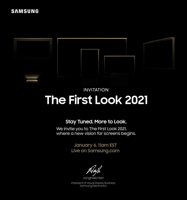 Samsung представит новые продукты 6 января (Samsung First Look 2021)