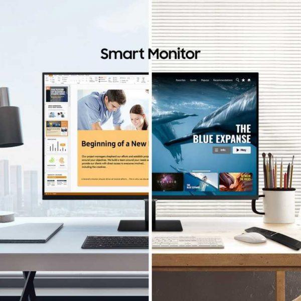Samsung запускает новые мониторы-телевизоры на базе ОС Tizen (Smart Monitor Press Release main1F)