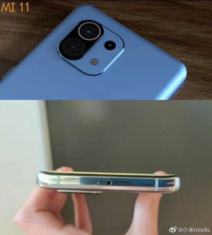 Релиз Xiaomi Mi 11 запланирован на 29 декабря (XIaomi Mi 11 camera module and side design)