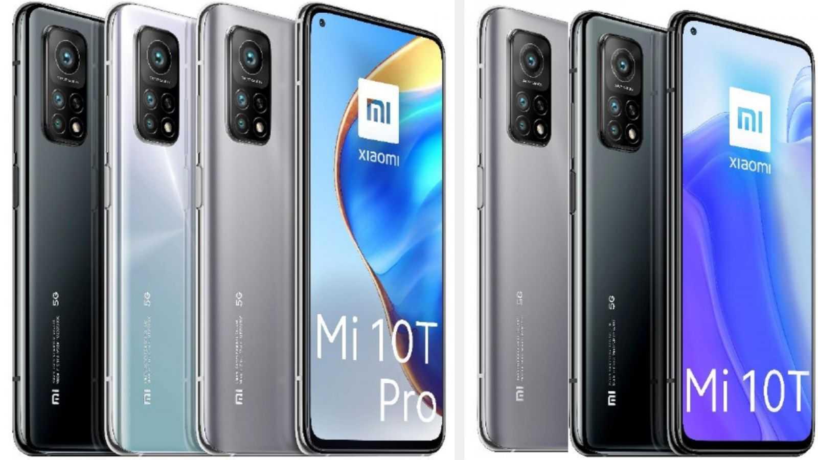Xiaomi выпустила Mi 10T и Mi 10T Pro в России (Xiaomi Mi10T Mi10T Pro Leaked Renders)