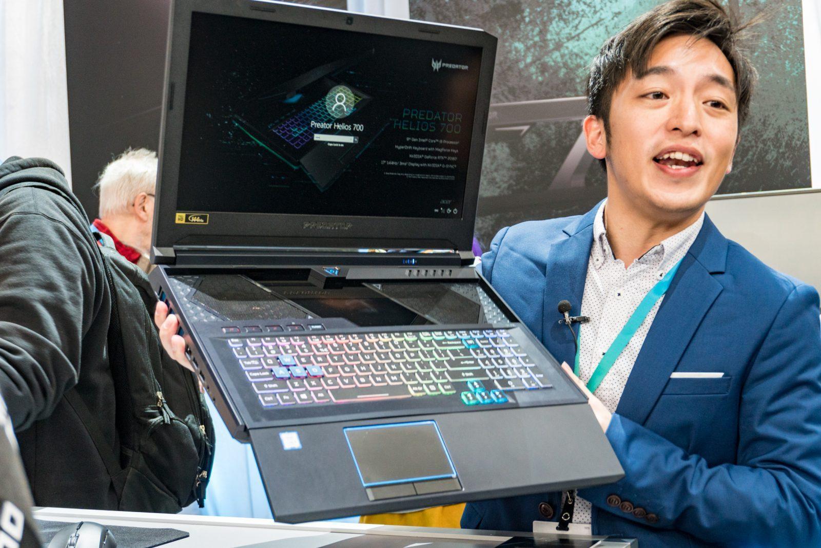 Acer представила новый игровой ноутбук Helios 700 (acer 2019 23 large 1)