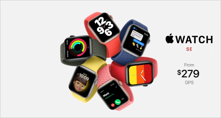 Apple, Huawei и Samsung лидируют на мировом рынке умных часов (apple watch se 4)