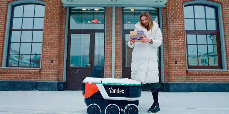 Яндекс.Ровер начал доставлять еду в Москве (art 4043)
