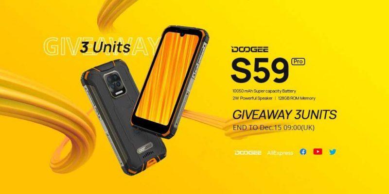 Китайская компания Doogee представила смартфон с батареей на 10050 мАч (doogee s59 pro s akkumulyatorom 10050 mach na predprodazhnoj osnove za 199 dollarov ssha uchastvujte v rozygryshe chtoby vyigrat ego besplatno 5fca86bde02f8)
