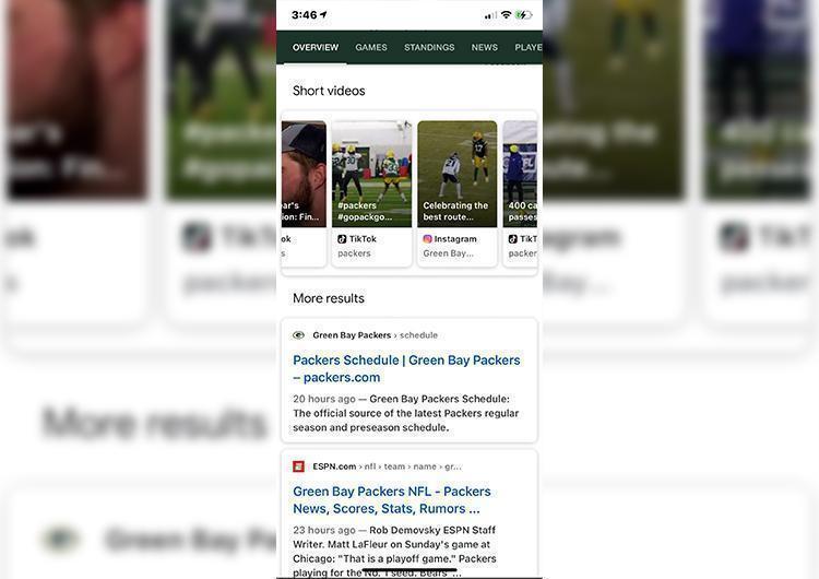 В выдаче Google появятся видео из TikTok и instagram (generalimage)