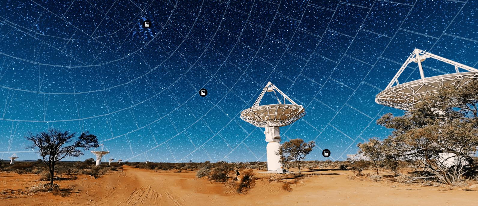 1 миллион новых галактик нашли при исследовании южного неба (image)