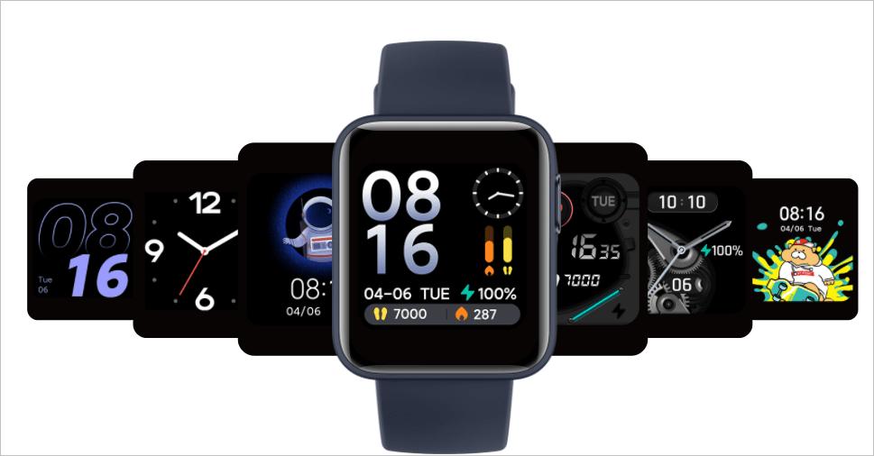 Xiaomi представила умные часы Mi Watch Lite (mi watch lite3)