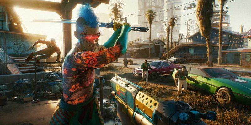 Вышел новый трейлер Cyberpunk 2077 (screen image mercenary 49f166ed)