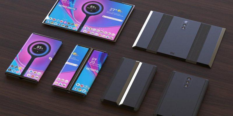 Xiaomi выпустит три складных смартфона в 2021 году (xiaomi foldable phone)