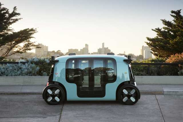 Amazon представила беспилотное электро-такси Zoox (zoox UAV)
