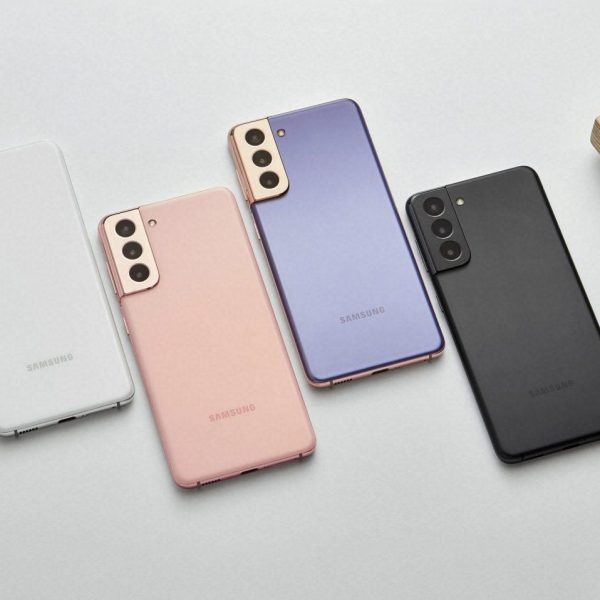 Samsung показал смартфоны Galaxy S21 и Galaxy S21+ (03 galaxys21 violet pink gray white 1 201230030423 scaled)