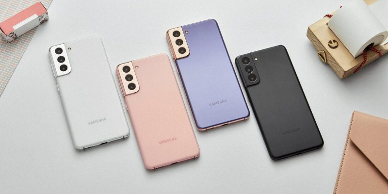 Флагманские смартфоны Galaxy S21 поступили в продажу в России (03 galaxys21 violet pink gray white 1 201230030423 scaled)