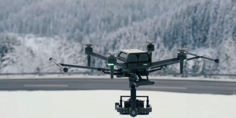 CES 2021: Sonу представила дрон для профессиональной киносъёмки (1 4)
